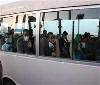 بعد الإصابة بالملاريا.. بعثة المنتخب الليبي لكرة القدم تغادر إلى إيطاليا.. صور وفيديو