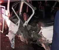 مصرع وإصابة 4 في حادث تفحم سيارة بالطريق الصحراوي الشرقي بالمنيا