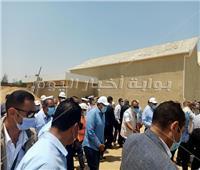 حياة كريمة  رئيس الوزراء يتفقد توسعة مدرسة خالد بن الوليد