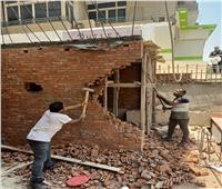 إيقاف 4 حالات تحويل من سكني لتجاري وحالة بناء مخالف بـ«الجيزة»| صور
