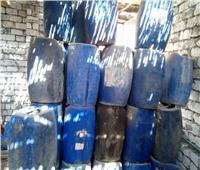 ضبط 6 أطنان منظفات صناعية مجهولة المصدر في الشرقية