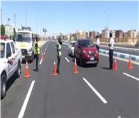 حملات موسعة بمحاور القاهرة والمحافظاتلرصد مخالفى قواعد المرور