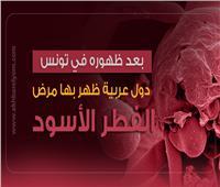 إنفوجراف  دول عربية ظهر بها مرض الفطر الأسود