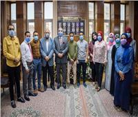 جامعة طنطا تستضيف طلاب جامعتى تعز اليمنية والنجاح الفلسطينية
