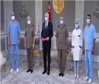 قيس سعيد يدعوا الشعب التونسي للتلقيح والتضامن لمواجهة كورونا