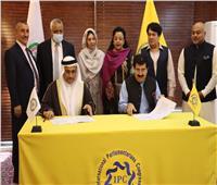 البرلمان العربي يوقع اتفاقية تعاون مشترك مع المؤتمر الدولي للبرلمانيين