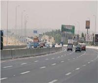 سيولة مرورية بالطرق الرئيسية والسريعة بالقليوبية