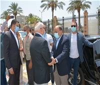 وزير التنمية المحلية يصل محافظة بورسعيد لافتتاح عدد من المشروعات الجديدة