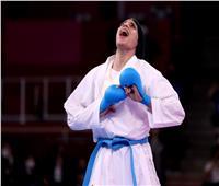 فرحة البطلة المصرية فريال أشرف بالذهبية   فيديو