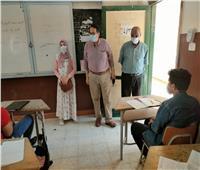 وكيل «تعليم الغربية» يتابع سير امتحانات الدور الثاني للشهادة الإعدادية