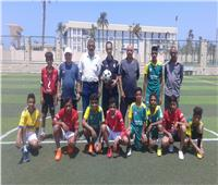 إعلان نتائج تصفيات أولمبياد الطفل المصري بشمال سيناء