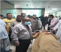 بالأسماء .. مصرع وإصابة 8 في حادث إنقلاب «ميكروباص» بأسوان
