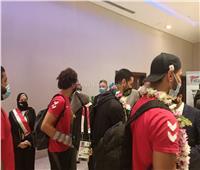 منتخب كرة اليد الأول يصل مطار القاهرة بعد مشاركته في أولمبياد طوكيو 2020