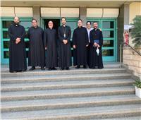 الأنبا باخوم يشارك في مسيرة التكوين الدائم لكهنة الإيبارشية البطريركية