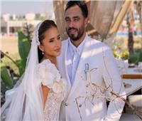 في أول تعليق لها بعد الزفاف.. نيللي كريم: «شكراً لكل من جعل يومنا مميزاً»