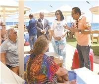 إشادات عالمية بالإجراءات الاحترازية في المُنتجعات السياحية المصرية