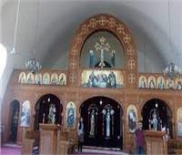 الأنبا بولا يلقي عظة صوم العذراء بكنيسة باب اللوق