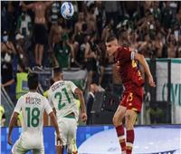 روما يسحق الرجاء المغربي بخماسية