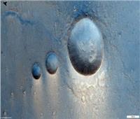 مركبة تابعة لوكالة الفضاء الأوروبية تكشف مشهدا غريب على سطح المريخ | فيديو