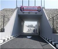 وزير النقل يشهد بدء تشغيل نفق السيارات بعرب عزبة الوالدة في حلوان