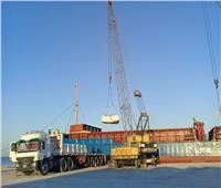 تصدير 3850 طن أسمنت أبيض إلى لبنان عبر ميناء العريش
