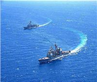 البحرية المصرية والأمريكية تنفذان تدريباً بحرياً عابراً في نطاق الأسطول الجنوبي
