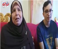 فيديو| والدة الرابع على الجمهورية بالسويس: المدرسين توقعوا تفوقه وخشيت عليه من قرارات الامتحانات