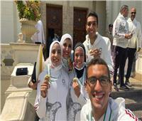 الأولمبية البحرينية تهنىء نظيرتها المصرية بميداليات أولمبياد طوكيو
