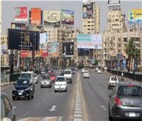 الحالة المرورية.. مرونة في حركة الطرق الرئيسية بالقاهرة والجيزة