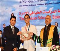 «صبحي» يشهد تكريم الأكاديمية العربية للمتوجين بميداليات في الأولمبياد