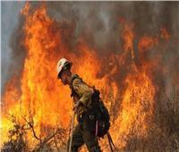 الرئيس الفرنسي يشكر رجال الإطفاء على جهودهم لإخماد حريق «كوت دازور»