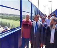 افتتاح كوبري مشاه أعلى الطريق الزراعي في كفر الدوار بتكلفه 5 مليون جنيه
