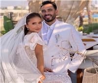 نيللي كريم تحتفل بعيد ميلاد هشام عاشور في «نيويورك» بعد زواجهما