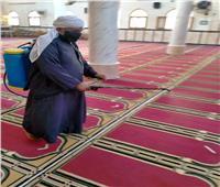 تعقيم وإجراءات احترازية بالإسماعيلية قبل صلاة الجمعة