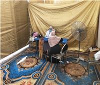 قافلة طبية مجانية لأهالي «زوير» و«سلكا» و«ميت الموز» بالمنوفية   صور
