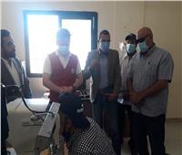 الكشف الطبي على 343 حالة مرضية بمركز الحسنة بوسط سيناء