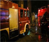 السيطرة على حريق شب داخل حديقة 6 أكتوبر بحلوان