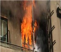 انتداب المعمل الجنائي لمعاينة حريق شقة سكنية بمنطقة حلوان