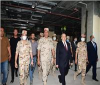 رئيسا الهيئة الهندسية للقوات المسلحة وجامعة القاهرة يتفقدان معهد الأورام بالشيخ زايد