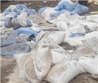 ضبط 50 طن ملح غير صالح للاستهلاك في الإسكندرية