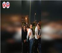 مصطفى كامل يقدم واجب العزاء في وفاة والدة زوجة محمد رمضان| فيديو