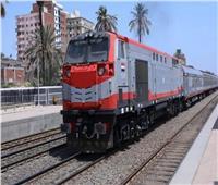حركة القطارات  70 دقيقة متوسط التأخيرات بين طنطا ودمياط
