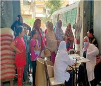 استمرار فعاليات حملة تنظيم الأسرة والصحة الإنجابية بدمياط