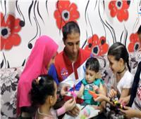 بعد تلقيه علاج ضمور العضلات  أسرة الطفل مصطفى محمود تشكر الرئيس