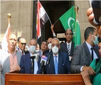 «أبوشقة»: نؤيد الرئيس السيسي في بناء الدولة الديمقراطية الحديثة