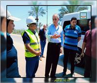 جولة تفقدية لمواقع مشروعات مياه الشرب والصرف الصحي في دمياط