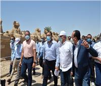 رئيس الوزراء يُتابع من الأقصر استعدادات احتفالية افتتاح طريق الكباش وعدة مشروعات