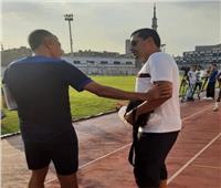 بعد حسم الدورى .. هيثم فاروق يفاجئ لاعبى الزمالك فى التدريبات