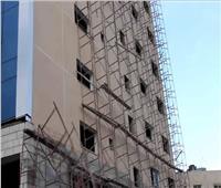 مصرع وإصابة 10 عمال في انهيار سقالة بمدينة 6 أكتوبر