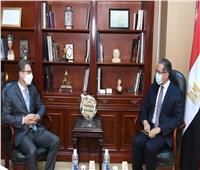 وزير السياحة يلتقي سفير ألمانيا بالقاهرة لبحث التعاون المشترك